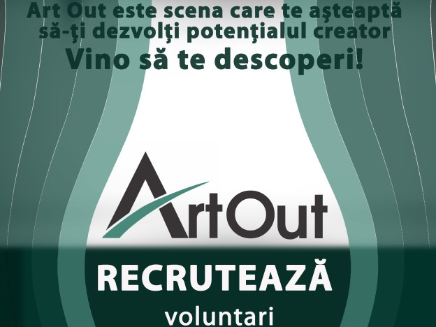 Recrutăm voluntari creativi